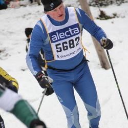 Skiing 90 km - Fredrik Lindh (5682)