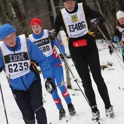 Skiing 90 km - Börje Fjällström (6239), Martin Göthberg (13486)