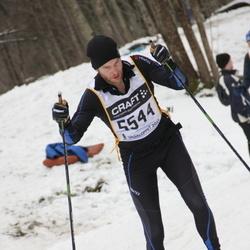 Skiing 90 km - Henrik Wåhlström (5544)
