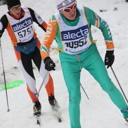 Skiing 90 km - Andrea Nejrotti (5751), Angelo Genuin (10952)