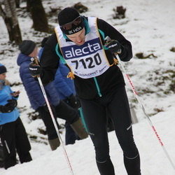 Skiing 90 km - Albin Almevall (7120)