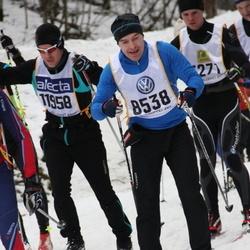 Skiing 90 km - Anders Westin (8538), Johan Rockedahl (11958)