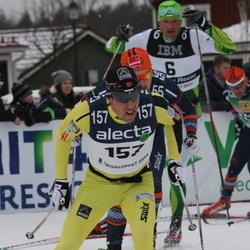 Skiing 90 km - Stanislav Rezac (6), Eldar Rönning (157)
