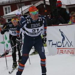 Skiing 90 km - Börre Naess (21), Alexander Artemyev (197)