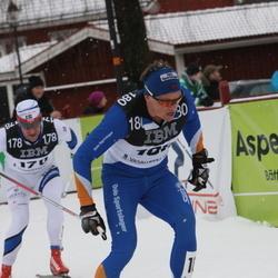 Skiing 90 km - Anders Högberg (178), Henrik Sollie (180)