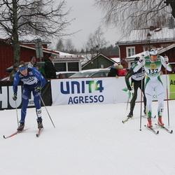 Skiing 90 km - Robert Eriksson (132), Fredrik Ousbäck (156)