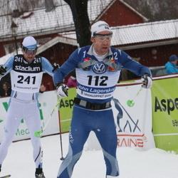 Skiing 90 km - John Lagerskog (112), Anders Sörensson (241)