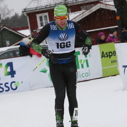 Skiing 90 km - David Berg (166)