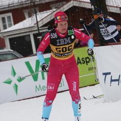 Skiing 90 km - Britta Johansson Norgren (506)