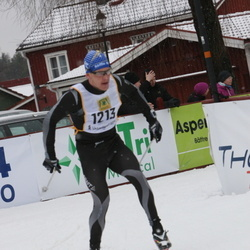 Skiing 90 km - Christofer Stevenson (1213)