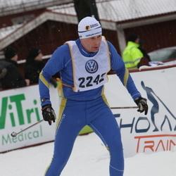 Skiing 90 km - Henrik Johnsson (2242)
