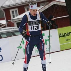Skiing 90 km - Henrik Aiff (1120)