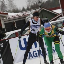 Skiing 90 km - Henrik Baltzari (2614)