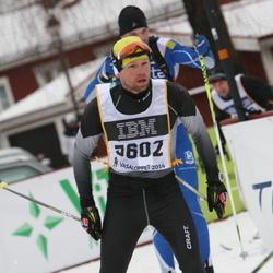 Skiing 90 km - Henrik Fehn (5602)
