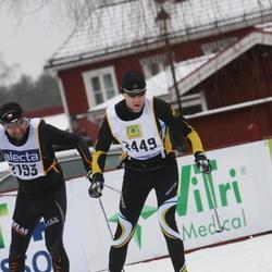 Skiing 90 km - Björn Boström (2449)