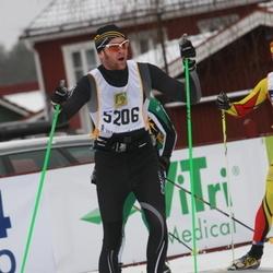 Skiing 90 km - Henrik Rundberg (5206)
