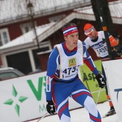 Skiing 90 km - Anders Nordin (4737)