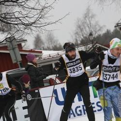 Skiing 90 km - Jarmo Juntura (3744), Karl Sterner (3835)