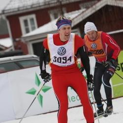 Skiing 90 km - Daniel Stenflo (3094)