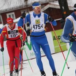 Skiing 90 km - Anders Näslund (3191), Claes Olsson (4754)