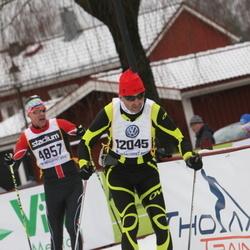Skiing 90 km - Massimo Franceschini (4857), Hugo Schretter (12045)