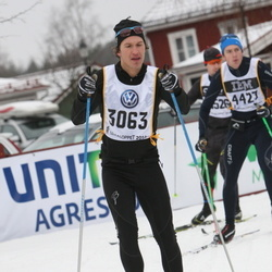 Skiing 90 km - Fredrik Dennbrink (3063)