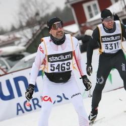 Skiing 90 km - Daniel Marström (3311), Anders Furéh (5469)