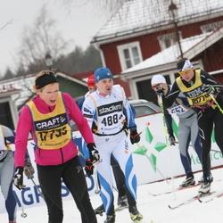 Skiing 90 km - Alar Alumaa (4884), Ingela Gahne (17735)