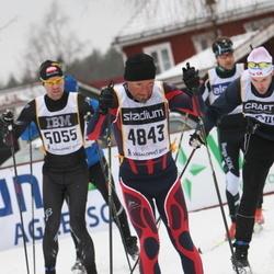 Skiing 90 km - Tino Seidel (4843), Egil Wallin (5055)