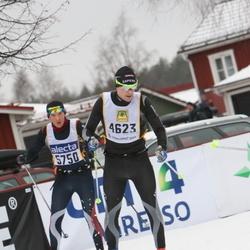 Skiing 90 km - Christoffer Ericsson (4623)