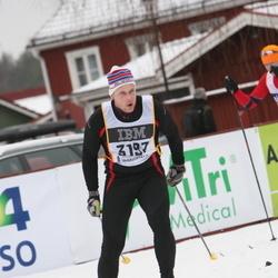 Skiing 90 km - Henrik Johansson (3197)