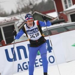 Skiing 90 km - David Sajner (5618)