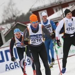 Skiing 90 km - Henrik Sahlström (5670)