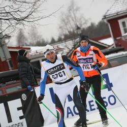 Skiing 90 km - Anders Näslund (4161), Giovanni Castagnoli (6761)