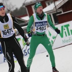 Skiing 90 km - Gustav Hansson (3403), Daniel Sundqvist (16471)