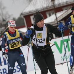 Skiing 90 km - Daniel Spiro (4669), Lina Hallquist (18924)