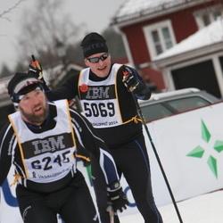 Skiing 90 km - Erik Sundin (5069)