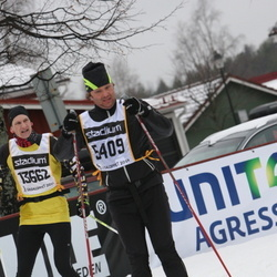 Skiing 90 km - Fredrik Bohman (5409), Albin Eklöf (13662)
