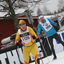 Skiing 90 km - Raimond Pettersen (5120), Fredrik Sylvan (11114)