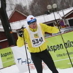 Skiing 90 km - David Larsson (5341)