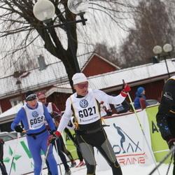 Skiing 90 km - Bo Hansen (6021), Espen Killingmo (6059)