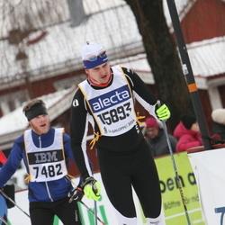 Skiing 90 km - Kristian Gotting (7482), Christian König (15893)