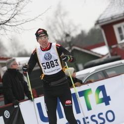 Skiing 90 km - Anders Jägard (5883)