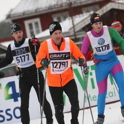 Skiing 90 km - Tony Johansson (5177), Bengt Lindholm (12791), Andreas Ehlis (13178)