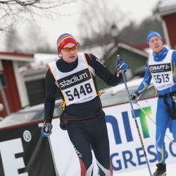 Skiing 90 km - Henrik Nydahl (5448)