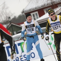 Skiing 90 km - Jan-Olof Furehed (6971), Mikael Westlund (11316)