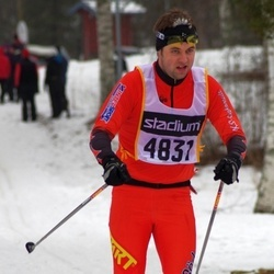 Skiing 90 km - Fredrik Hagström (4831)