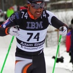 Skiing 90 km - Adam Steen (74)