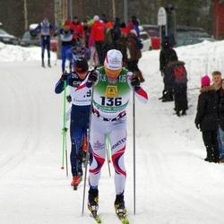 Skiing 90 km - Fredrik Sätter (136)