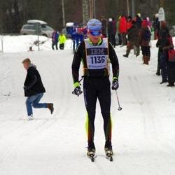 Skiing 90 km - Fredrik Lybeck (1136)